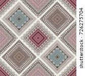 seamless pattern  patchwork... | Shutterstock .eps vector #726275704