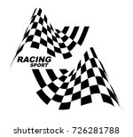 racing sport. starting and... | Shutterstock .eps vector #726281788
