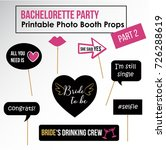 bachelorette party  hen party ... | Shutterstock .eps vector #726288619