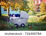 little newborn baby boy ...   Shutterstock . vector #726300784