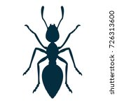 ant icon | Shutterstock .eps vector #726313600