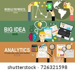 mobile payments.analytics... | Shutterstock .eps vector #726321598
