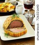 homemade christmas beef...   Shutterstock . vector #726321640