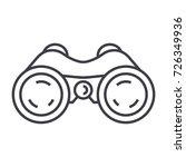 binoculars periscope vision... | Shutterstock .eps vector #726349936