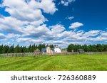 sunny day | Shutterstock . vector #726360889