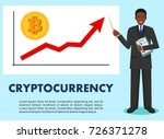 cryptocurrency concept.... | Shutterstock .eps vector #726371278