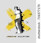 creative modern classical... | Shutterstock .eps vector #726377170