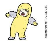 man in protective suit cartoon | Shutterstock .eps vector #72637951