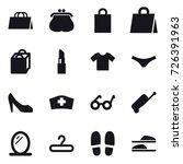 16 vector icon set   shopping...   Shutterstock .eps vector #726391963