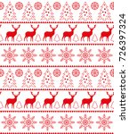 christmas seamless pattern ... | Shutterstock .eps vector #726397324