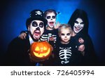 happy family mother father and... | Shutterstock . vector #726405994