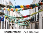 typical portuguese popular... | Shutterstock . vector #726408763