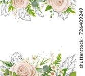 Vector Floral Card Art...