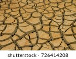 dry clay texture  which has... | Shutterstock . vector #726414208