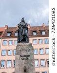 albrecht durer monument  1828 ... | Shutterstock . vector #726421063