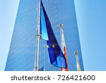 polish and european union flags ... | Shutterstock . vector #726421600