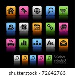 web site   internet icons   ... | Shutterstock .eps vector #72642763