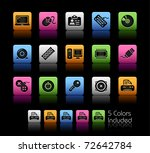computer   devices    color box ... | Shutterstock .eps vector #72642784