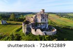 aerial view of mirow castle in... | Shutterstock . vector #726432889