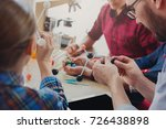stem education. physical... | Shutterstock . vector #726438898