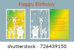 text   happy birthday. vector ... | Shutterstock .eps vector #726439150