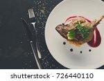 exclusive restaurant meals....   Shutterstock . vector #726440110