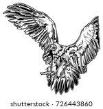 monochrome illustration of... | Shutterstock .eps vector #726443860