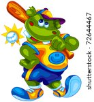cute hippo | Shutterstock .eps vector #72644467