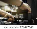 in coffee shop coffee is ready... | Shutterstock . vector #726447346