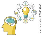 mental health design | Shutterstock .eps vector #726455968