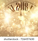2018 new year shining... | Shutterstock .eps vector #726457630
