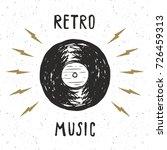 Vinyl Record Vintage Label ...