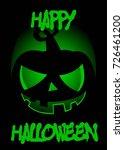 halloween poster illustration | Shutterstock .eps vector #726461200