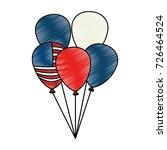 united states of america... | Shutterstock .eps vector #726464524