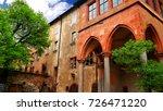 heidelberg castle  a ruin in... | Shutterstock . vector #726471220