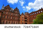 heidelberg castle  a ruin in... | Shutterstock . vector #726471664