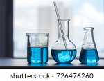 science laboratory test tubes   ... | Shutterstock . vector #726476260