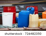 Various Plastic Cans With...