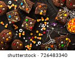 Chocolate Monster Brownies With ...