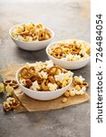 homemade trail or snack mix... | Shutterstock . vector #726484054