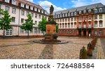marktplatz  market square  of... | Shutterstock . vector #726488584