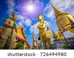 giant in grand palace and wat... | Shutterstock . vector #726494980
