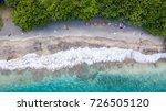 hawaii beach drone maui | Shutterstock . vector #726505120