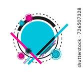 hipster geometric pattern ...   Shutterstock .eps vector #726507328