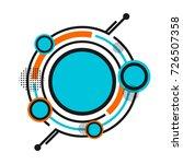 hipster geometric pattern ...   Shutterstock .eps vector #726507358