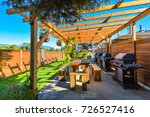 Barbecue And Picnic Area Of...