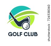 golf country club logo template ...   Shutterstock .eps vector #726538360