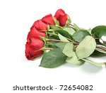 bouquet of roses | Shutterstock . vector #72654082