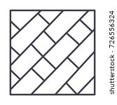 Parquet Vector Line Icon  Sign...