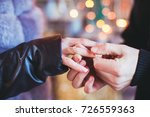 the marriage proposal | Shutterstock . vector #726559363